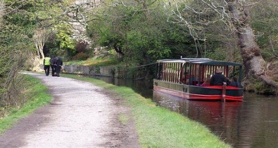 Llangollen Canal and Horse Drawn Boats